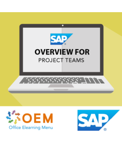 SAP overview for Project Teams E-learning