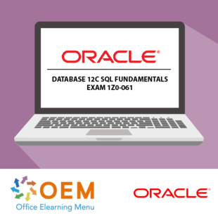 Oracle Database 12c SQL Fundamentals exam 1Z0-061