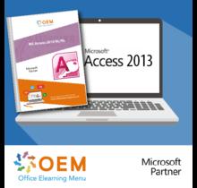 Access 2013 Basic Advanced Expert E-Learning + Book