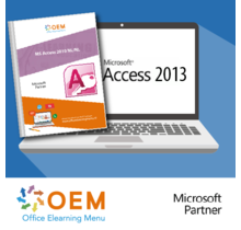 Access 2013 Basis Gevorderd Expert E-Learning+Boek