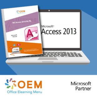 Boek Access 2013 Basis Gevorderd Expert E-learning+Boek