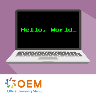 Getting Started with Hello World E-learning