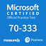 MeasureUp 70-333 Deploying Enterprise Voice with Skype for Business 2015