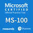 MeasureUp Microsoft Identity 365 and Services MS-100 Proefexamen
