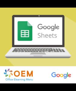 Training Google Sheets Gevorderd Incompany