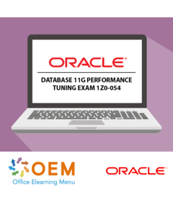 Oracle Database 11g Performance tuning exam 1Z0-054 E-learning