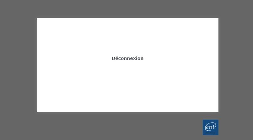 Foutmelding Deconnexion