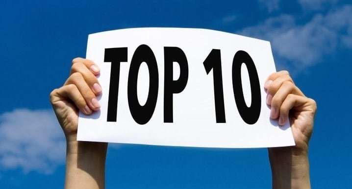 Top 10 Trainingen 2021