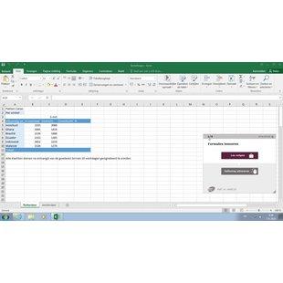 Excel 2016 Basis Gevorderd Expert E-learning + Boek