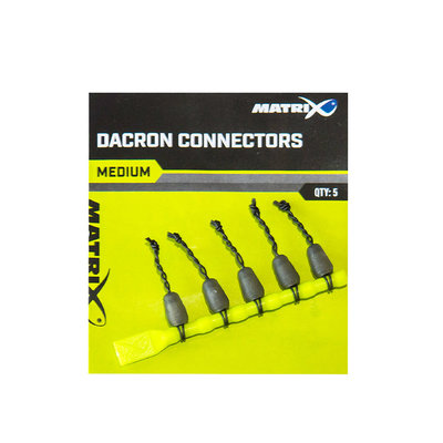 Matrix Dacron Connectors