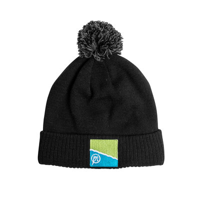 Preston Black/Grey Bobble Hat