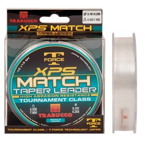 Trabucco T Force XPS Match Taper Leader
