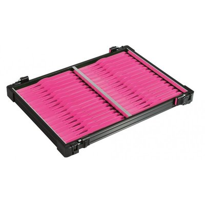 Rive Tray Black with 32 winders 19 cm