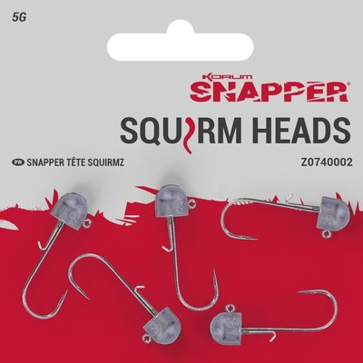 Snapper Squirm Heads