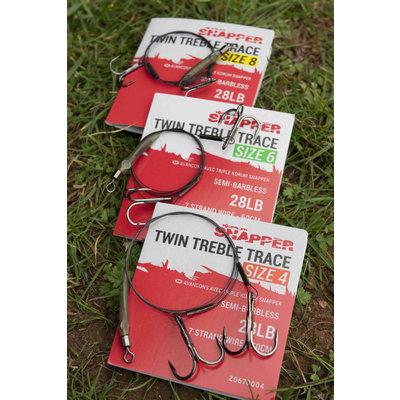 Snapper Twin Treble Trace