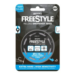 Spro FreeStyle Reload Dropshot Rig 0.28mm
