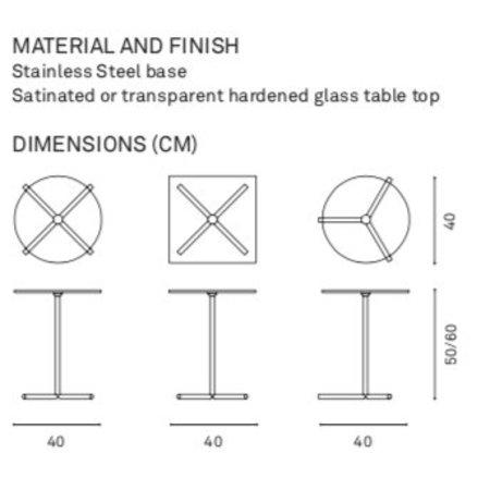 Design Bijzettafel XL Table