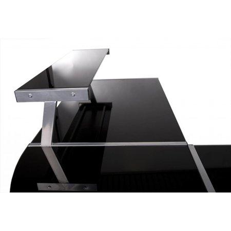 Design Bureau Raalte-Zwart glas