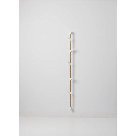 Design Wandkapstok Bamboo wall