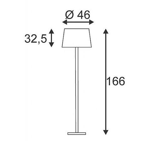 Design Vloerlamp Bishade