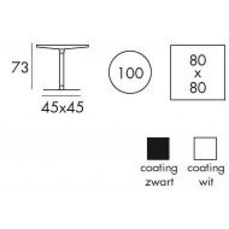 Tafelonderstel DMS2381