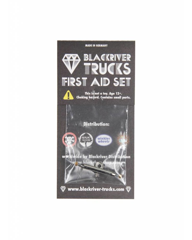 Blackriver First Aid - Single Hanger 32mm Silver