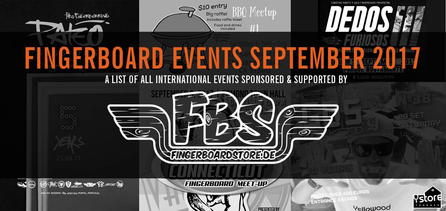 Fingerboard Events September 2017
