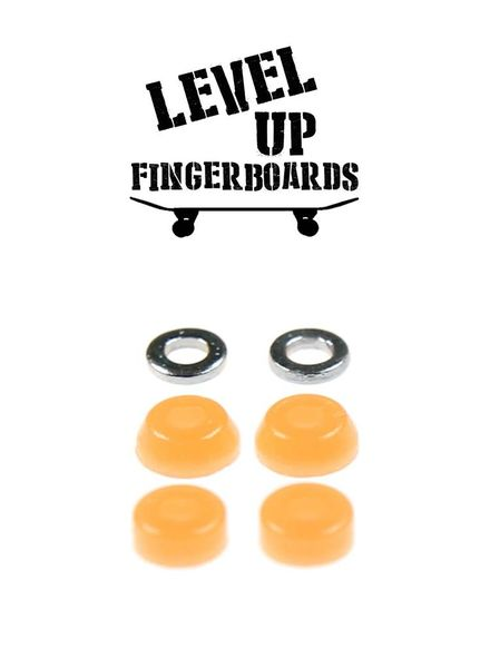 LevelUp Beta Bushings Flourescent Orange