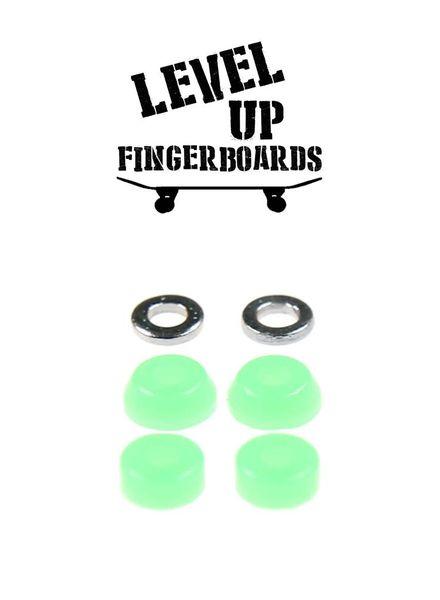 LevelUp Beta Bushings Fluorescent Green