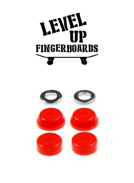 LevelUp Beta Bushings Red