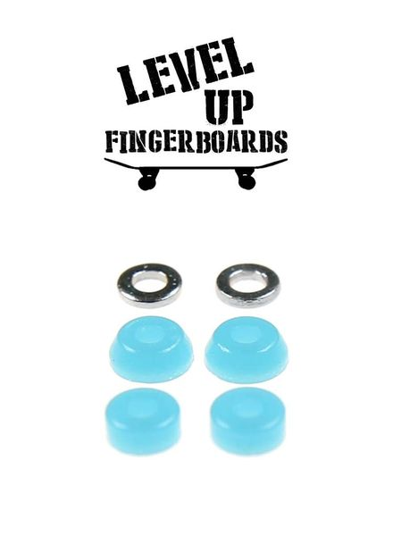 LevelUp Beta Bushings Fluorescent Blue