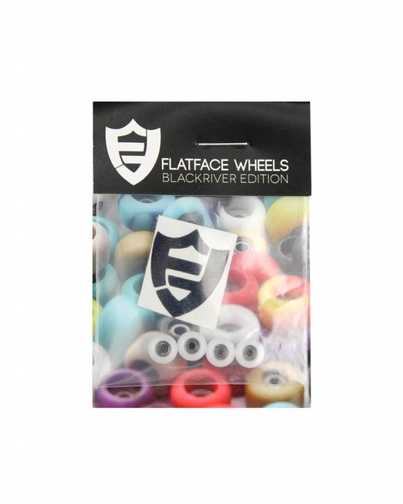 FlatFace Street Shape BRR Edition Wheels WHITE
