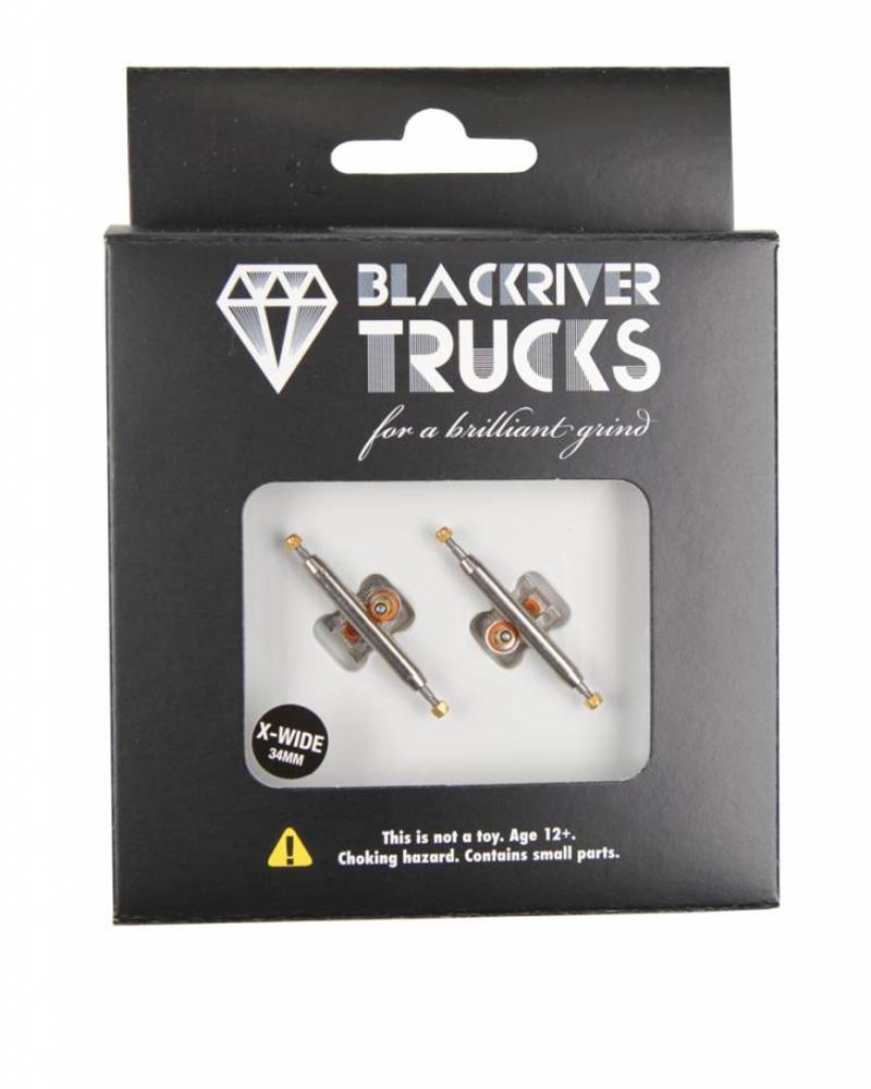 Blackriver Trucks X-Wide 2.0 Silver/Silver 34mm