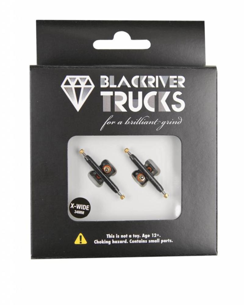 Blackriver Trucks X-Wide 2.0 Black/Black 34mm