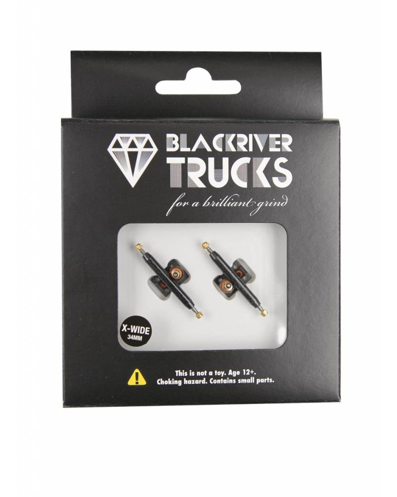 Blackriver Trucks X-Wide 2.0 Black/Black 34mm