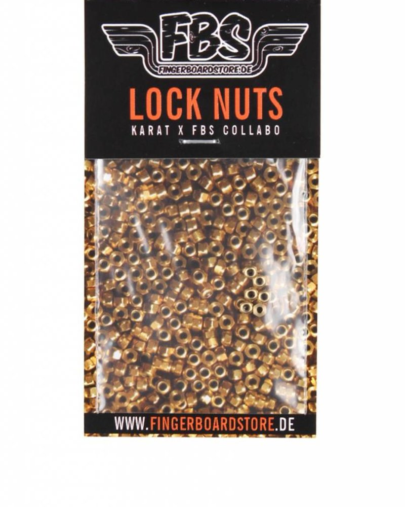 FBS Lock Nuts White