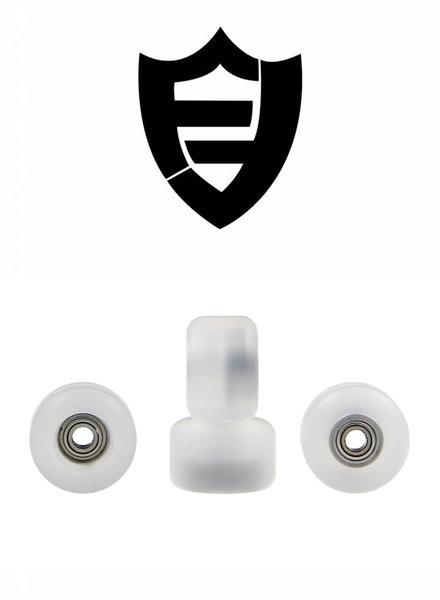 FlatFace Wheels G4 Crystal Clear BRR Edition