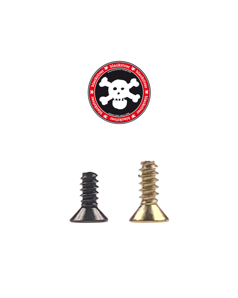 Blackriver First Aid Screws black