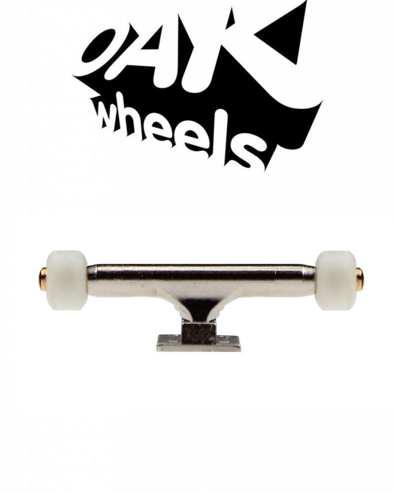 Oak Wheels Mini Original White