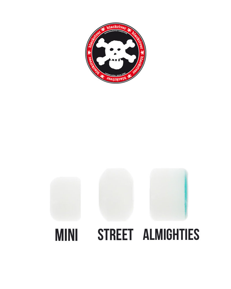 Blackriver 'Blank Street' white