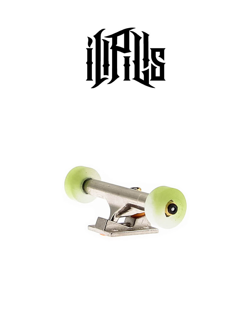 Ill Pills Street Resin Green/White