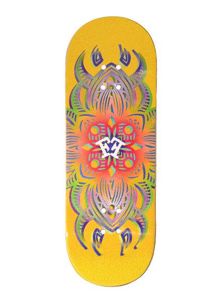 Finga Fingerboard SLIM Mandala Yellow