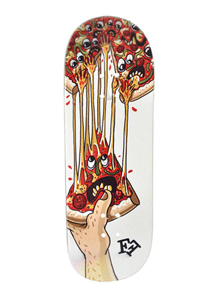 Finga Fingerboard SLIM Pizza White