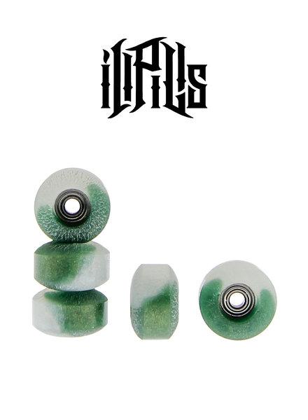 Ill Pills Street Resin Dark Green/White