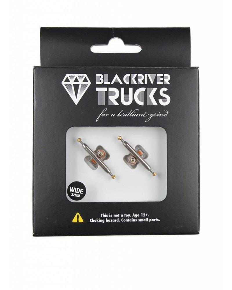 Blackriver Trucks Wide 2.0 Silver/Silver 32mm