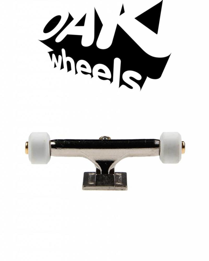 Oak Wheels Mini White