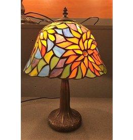 RoMaLux 7699 Tiffany tafellamp