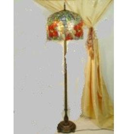 RoMaLux 7656 vloerlamp Tiffany