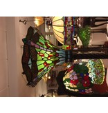 RoMaLux 7649, vloerlamp tiffany