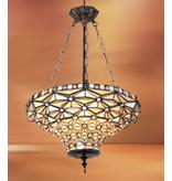 RoMaLux 5125 Tiffany hanglamp